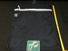 #17 RYAN TANNEHILL MIAMI DOLPHINS GAME USED NAVY EQUIPMENT MESH LAUNDRY BAG