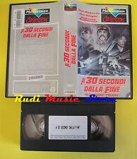 VHS film A 30 SECONDI DALLA FINE Runaway train MULTIVISION 10080113 (F66) no dvd