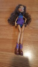 Monster High Claudine Wolf doll for OOAK repaint or play, used