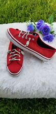 Sperry Top-Sider x Jaws Movie Seacoast Red Casual Canvas Shoes 8M Wmn's STS97115