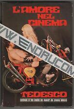 collana di CINEMA 3 / 1971 L'AMORE NEL CINEMA TEDESCO supplemento a New Cinema 1