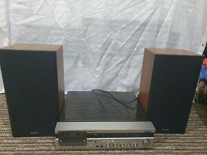 Panasonic SG-V06 With SB 322 Speakers - Rare Vintage Stereo System -Slight Fault