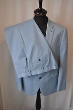 """Taylor & Wright pale blue single breasted 2 piece suit size 44"""" W 38"""" mod"""