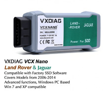 LAND Rover e Jaguar WIFI PROFESSIONALE dispositivo diagnostico vxdiag VCX Nano jlr-SDD v143