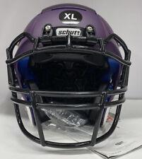 Schutt Collegiate 208700:f7 Youth Football Helmet Matte Purple Size Xl