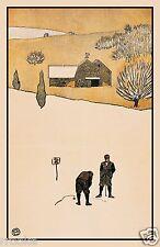 Edward Penfield GOLF Golfing Vintage Fine Art Print / Poster