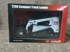 Vintage 1/25 Scale Die Cast Metal Bobcat T200 Compact Track Loader #6901257