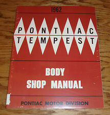 1962 Pontiac and Tempest Body Service Shop Manual 62