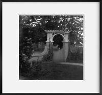 1871 Photo Gate of Gen. [Montgomery Cunningham] Meigs house, 1239 Vermont Ave.,
