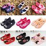 Lovely Girls Kids Cartoon Mickey Minnie Sandals Casual Summer Beach Jelly Shoes
