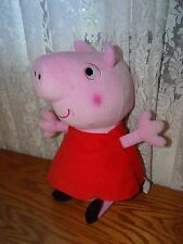"Peppa Pig Plush 12"" Fisher Price 2011 stitched eyes Perfect"