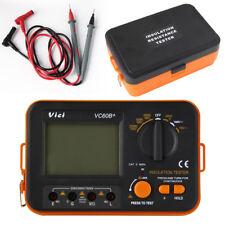 VC60B+ Digital Insulation Tester Megger MegOhm Meter DC250/500/1000V AC750V