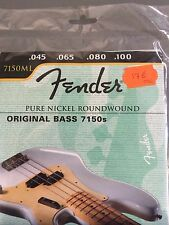 7150ML FENDER CORDE GUITARE BASSE 045 100 FENDER