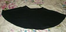 Missguided - ladies Black skater skirt - size U.K M/L - Used Good