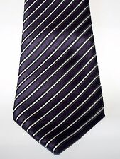 GEORGE PURPLE MIX MENS TIE EXCELLENT CONDITION # 331