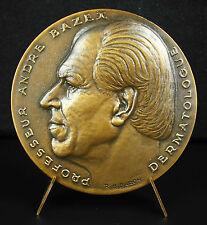 Médaille professeur André Bazex Toulouse R B Baron 1963 Croix occitane Medal