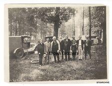 Vintage 1920 Thomas Edison Road Trip w/ Henry Ford & Harvey Firestone Photo