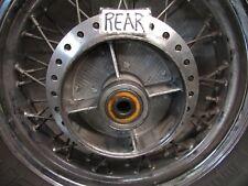H HONDA SHADOW  VT CD 600 1998 OEM   REAR WHEEL