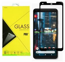 FULL COVER Premium Tempered Glass Screen Protector Guard For Google Pixel 2 XL