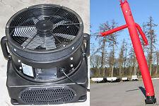 Skydancer mit Gebläse, Airdancer,Flattermann, 1100 W, rot