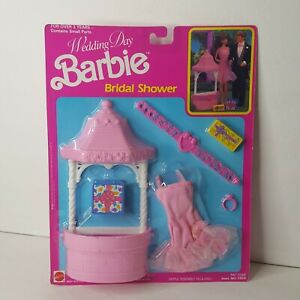 Wedding Day Barbie Bridal Shower 1990 No. 7267
