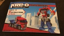 Kreo-o Create It Tranformers #31143 Instruction Book Only