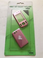 Nokia 6600s - Full Fascia Housing Cover Front Back Case Replacement Pink