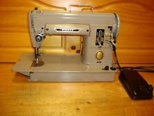 VINTAGE  SINGER SEWING MACHINE MODEL 301  ,FULLY SERVICED