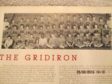 1940 Yearbook Connellsville High School PA John Lujack Notre Dame Heisman Trophy