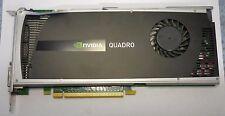 Nvidia Quadro 4000 2GB GDDR5 SDRAM PCI-E x16 Display Port, DVI; Graphics Card