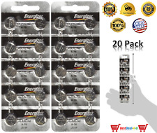 20 Pck Energizer LR44 15V Button Cell Battery LR44 CR44 SR44 357 SR44W AG13 A76