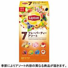 Lipton, Pyramid Tea Bags, 7 Days Flavor Tea Assortment, 7 kinds, Japan