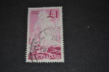 NOUVELLE ZELANDE 1960 1 £ oblitéré