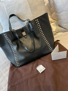 Mulberry Tessie Tote Black Studded