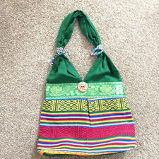 Indian Cotton Fabric Multicolour Boho Hippie Women Fashion Design Handbag Bag
