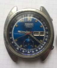 Seiko Chronograph 6139-6012 Vintage Chronograph Automatic Men's Watch for Repair