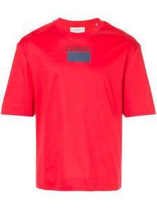 Men Authentic CERRUTI 1881 logo print T-shirt DEFECT