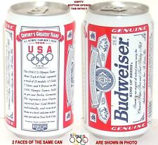 1936 JESSE OWENS OLYMPICS GREATEST TEAMS USA GOLD METAL TRACK BUDWEISER BEER CAN