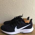 Nike Men's Air Zoom Pegasus 36 AQ2203-002 Black Running Shoes Lace Up SZ 10.5