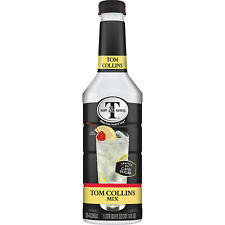 Mr & Mrs T Tom Collins Mix, 1 Liter Bottle (Pack of 6)