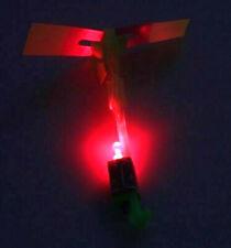 10 Stück LED Helicopter Heli Flying Abschießer Katapult Flieger Mitgebsel