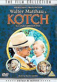 KOTCH GENUINE R2 DVD WALTER MATTHAU DEBORAH WINTERS FELICIA FARR VGC