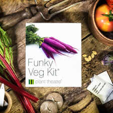 Vegetable Seed Starter Growing Kit Grow Your Own 5 Funky Veg Plant Birthday