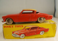 Dinky Toys F n° 24Y studebaker Commander en boite