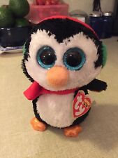 """Ty Beanie Boos """"North"""" Penguin 6"""" NWT *RETIRED*"""