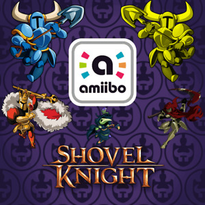 Shovel Knight Custom Amiibo COIN | Knight, King, Plague, Specter & Gold Knight