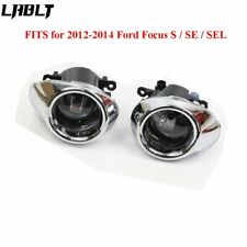 Clear Lens Driving Fog Lights Bumper Lamps+Bulbs For 2012 2013 2014 Ford Focus