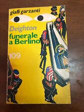 Gialli Garzanti Funerale a Berlino di Deighton 1976