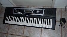 Yamaha YPT210 61 Full-Sized Key Keyboard w/ 375 Tones, w/ AC Adapter