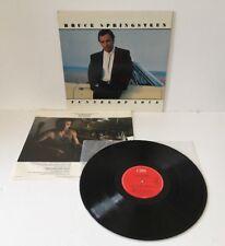 BRUCE SPRINGSTEEN TUNNEL OF LOVE VINYL LP RECORD 1987 UK PRESS 460270 1 EX